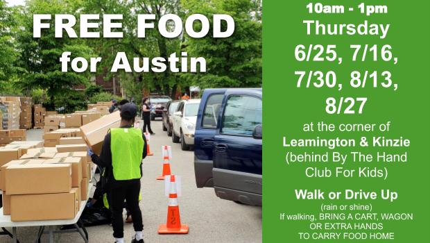 FREE Austin Pop-Up Food Pantry